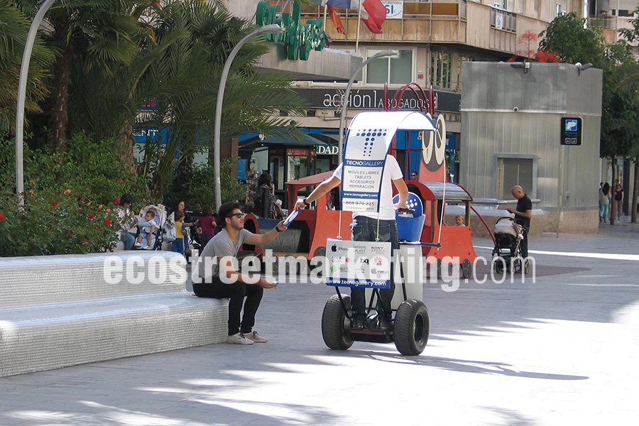 Publicidad con Segway en Murcia