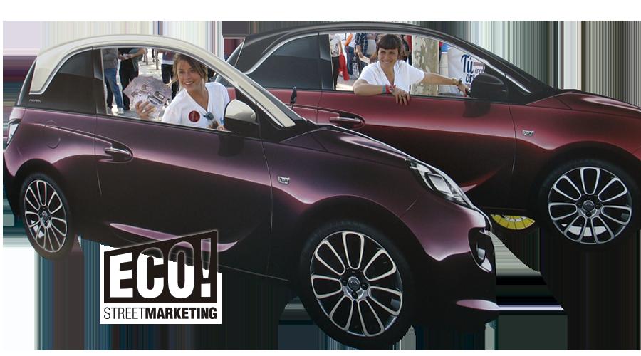 Publicidad Street Marketing personalizada