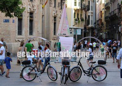 Publicidad móvil en Madrid