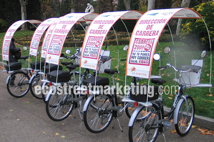 Bicicletas para eventos en Madrid