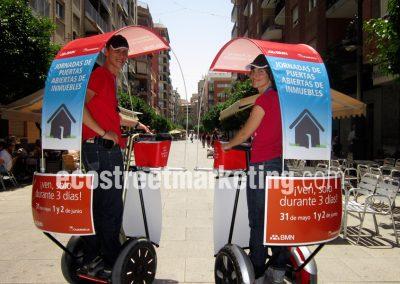 Segway para Street Marketing, campañas de publicidad