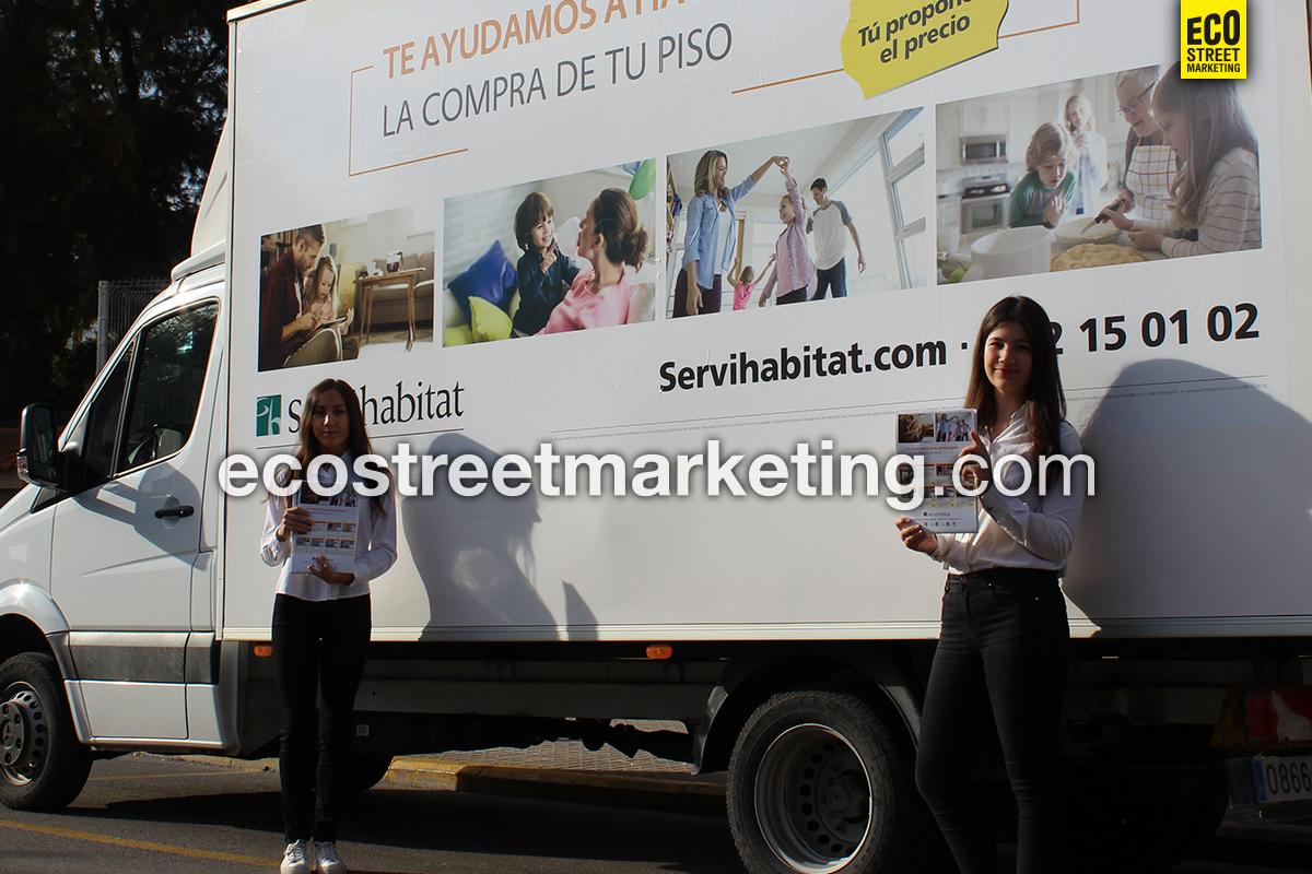 Eco Street Marketing Road show vehículos gran capacidad marketing