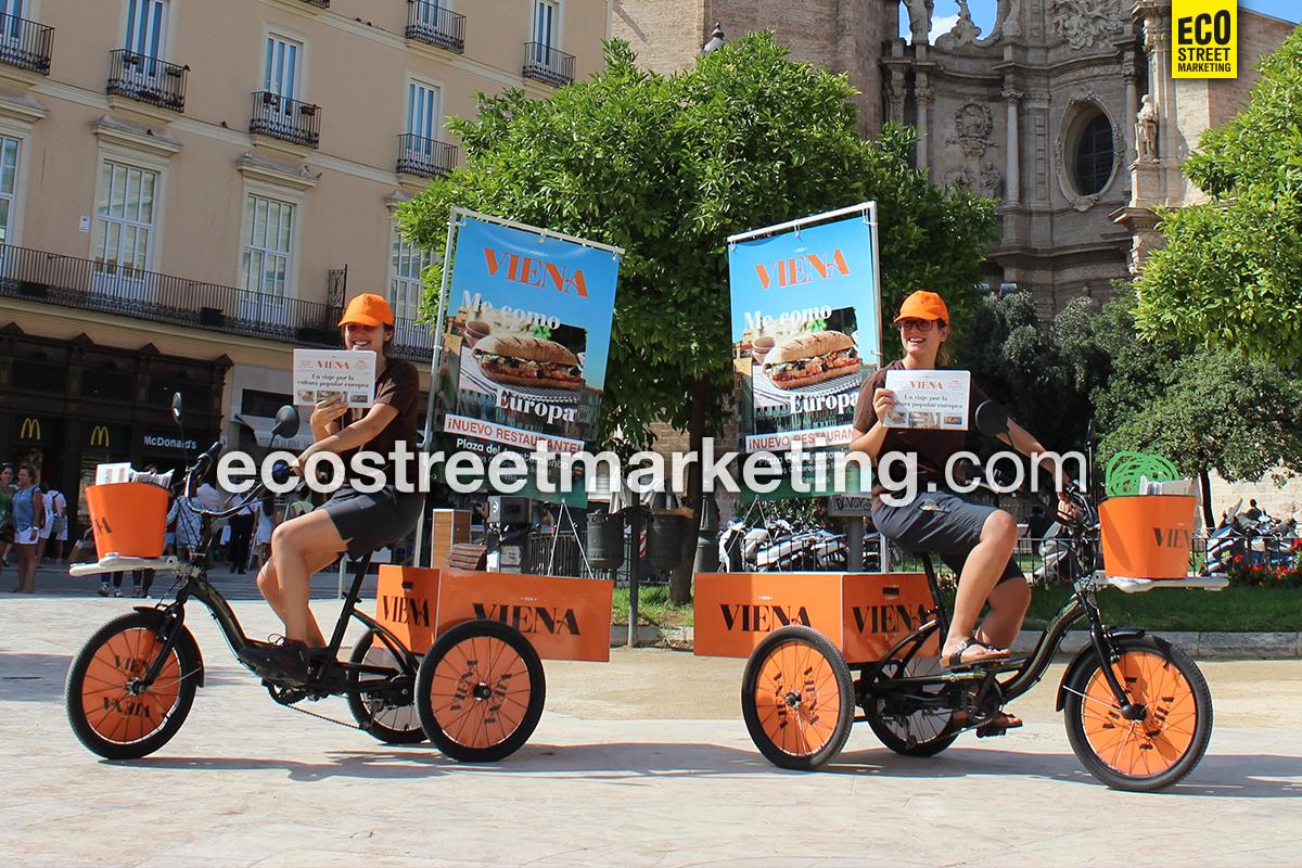 Eco Street Marketing publicidad dinámica exterior valencia